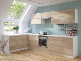 Rohová kuchyňa Line ľavý roh 320x180 cm - II. akosť