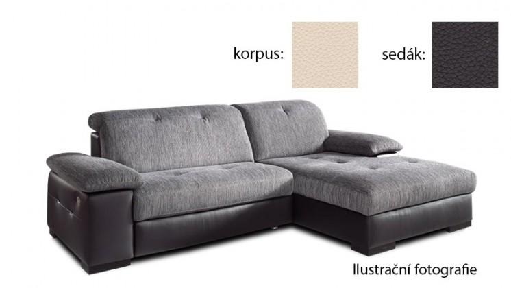 Rohová Livorna - pravá (k:excellent-bisquit h351/m:excellent-mud h357)