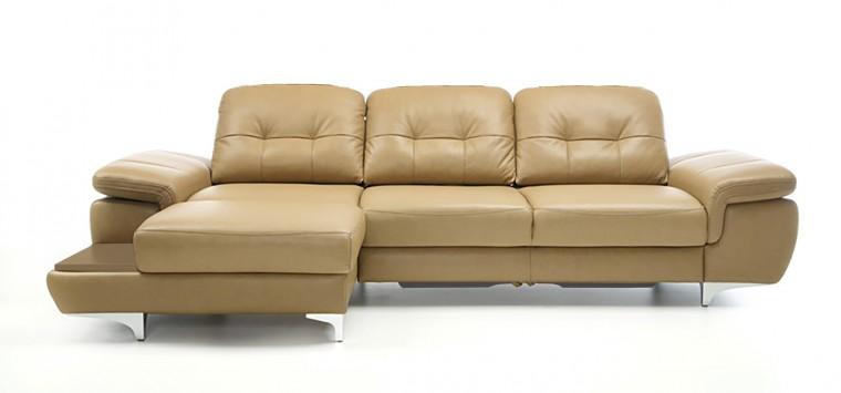 Rohová Move - roh ľavý (odkladacia doska - dub/poťah - látka)