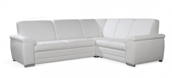 Rohová Nuuk - Sedacia súprava (cayenne 1111 white)