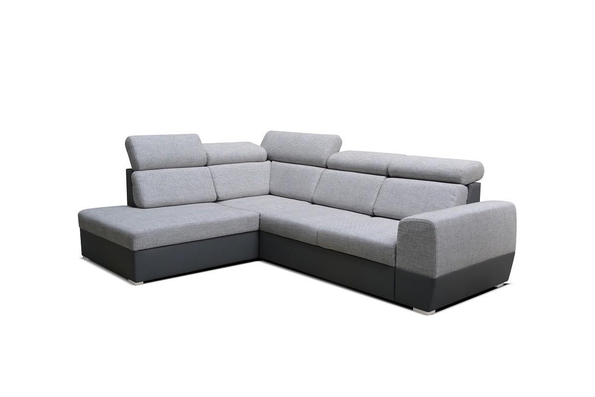 Rohová Rohová sedačka rozkladacia Matrix ľavý roh ÚP sivá