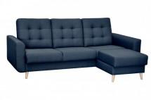 Rohová sedačka rozkladacia Avanti pravý roh ÚP modrá