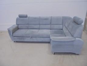 Rohová sedačka rozkladacia Duo Panama ÚP - II. akosť