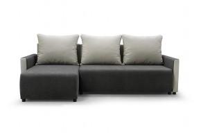 Rohová sedačka rozkladacia Finezja univerzálny roh ÚP sivá, biela