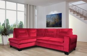 Rohová sedačka rozkladacia Massa ľavý roh ÚP červená