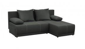 Rohová sedačka rozkladacia Picolo univerzálny roh ÚP čierna