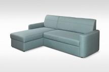 Rohová sedačka rozkladacia Primo univerzálny roh ÚP, modrá