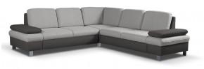 Rohová sedačka rozkladacia Sante univerzálny roh hnedá, sivá