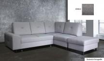 Rohová sedačka rozkladacia Silver pravý roh ÚP