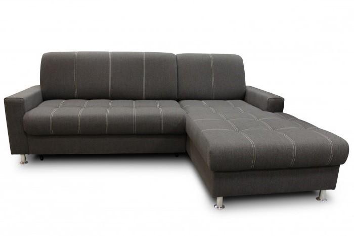 Rohová sedačka rozkladacia Simone pravý roh ÚP sivá