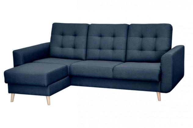 Rohové sedačky rozkladacie Rohová sedačka rozkladacia Avanti ľavý roh ÚP modrá