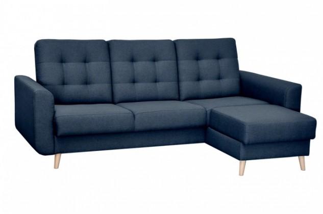 Rohové sedačky rozkladacie Rohová sedačka rozkladacia Avanti pravý roh ÚP modrá