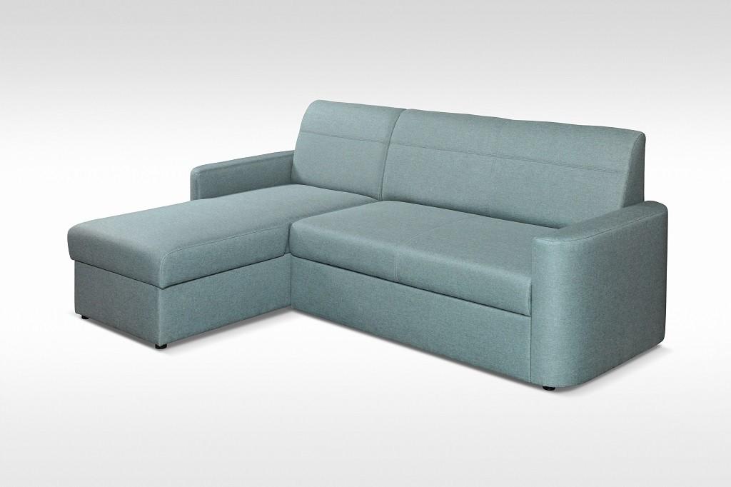 Rohové sedačky rozkladacie Rohová sedačka rozkladacia Primo univerzálny roh ÚP, modrá