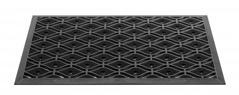 Rohožka - Armada, 45x75 cm (čierna)