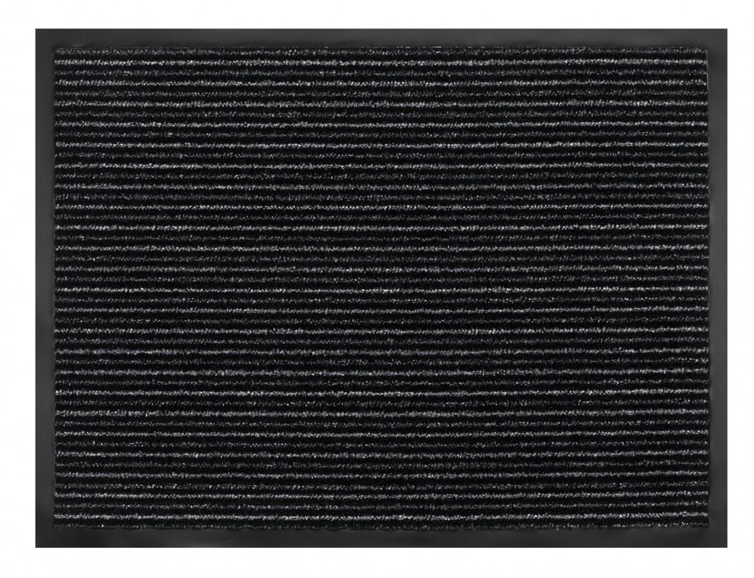 Rohožka - Maxi Dry Stripe, antracite, 40x60 cm (pruhy)