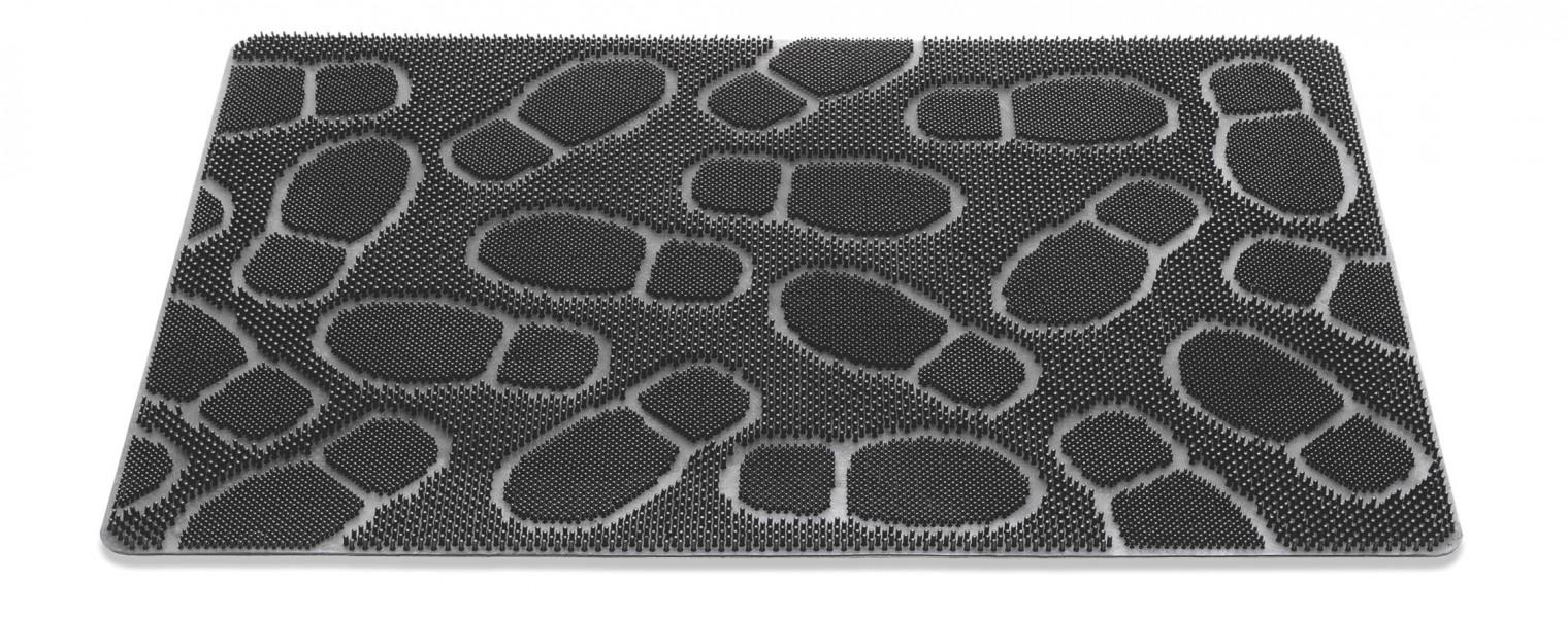 Rohožka - Stepmat, 60x90 cm (čierna)