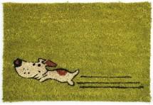 Rohožka Zelený pes (40x60 cm)