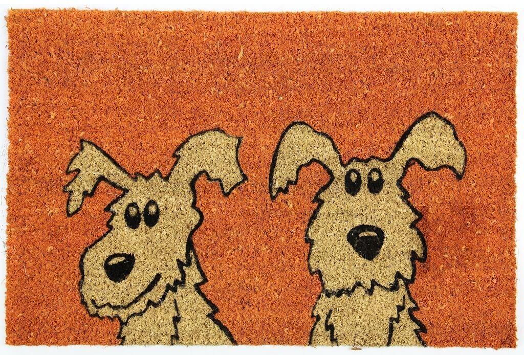 Rohožky Rohožka Dva psy (40x60 cm)