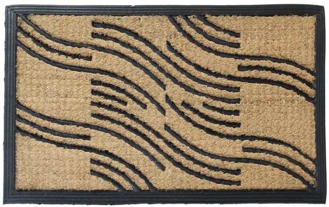 Rohožky Rohožka Vlnky (40x70 cm)