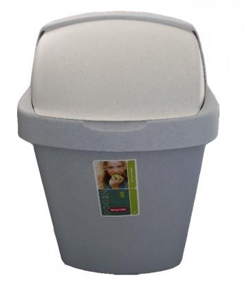 ROLLTOP, 50l (plast,sivá)