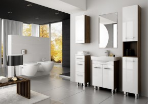 Roma 1 - kúpeľňová zostava s umývadlom (biela)