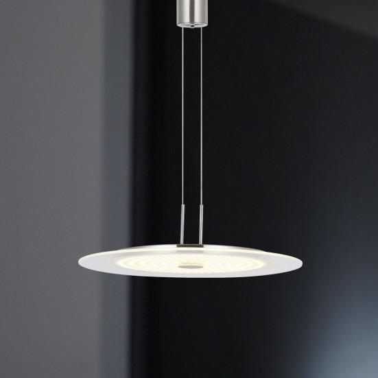 Roma - Stropné osvetlenie, LED (nikel)