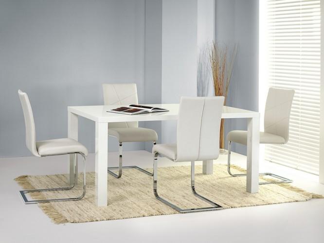 Ronald-Jedálenský stôl,rozkladací 80x120x160(biela) - II. akosť