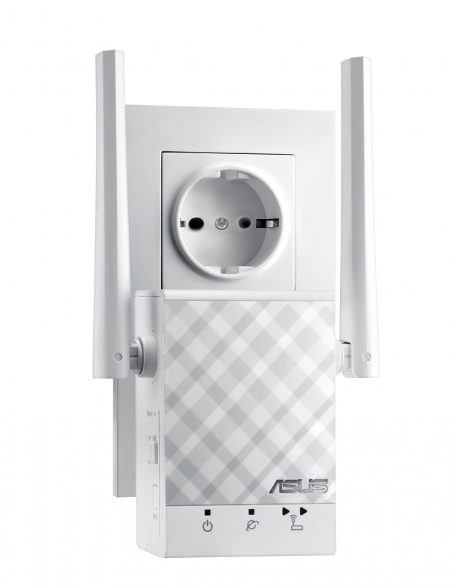 Router Bezdrátový dvoupásmový repeater ASUS RP-AC51