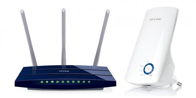 Router SET wifi zosilňovač + wifi router