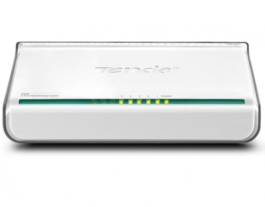 Router  Tenda S105 5-portový Fast Ethernet Switch