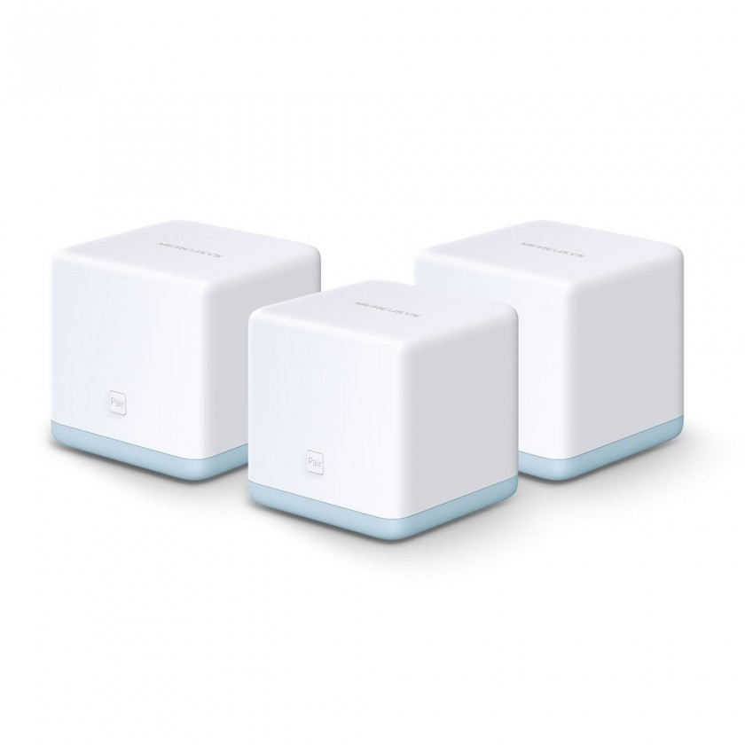 Router WiFi mesh Mercusys Halo S12, 3-pack