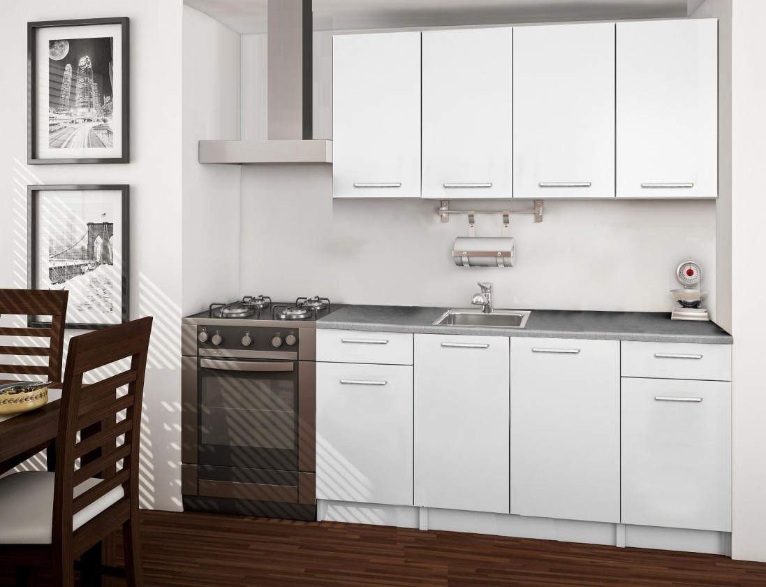 Rovná Basic - kuchynský blok A 160 cm