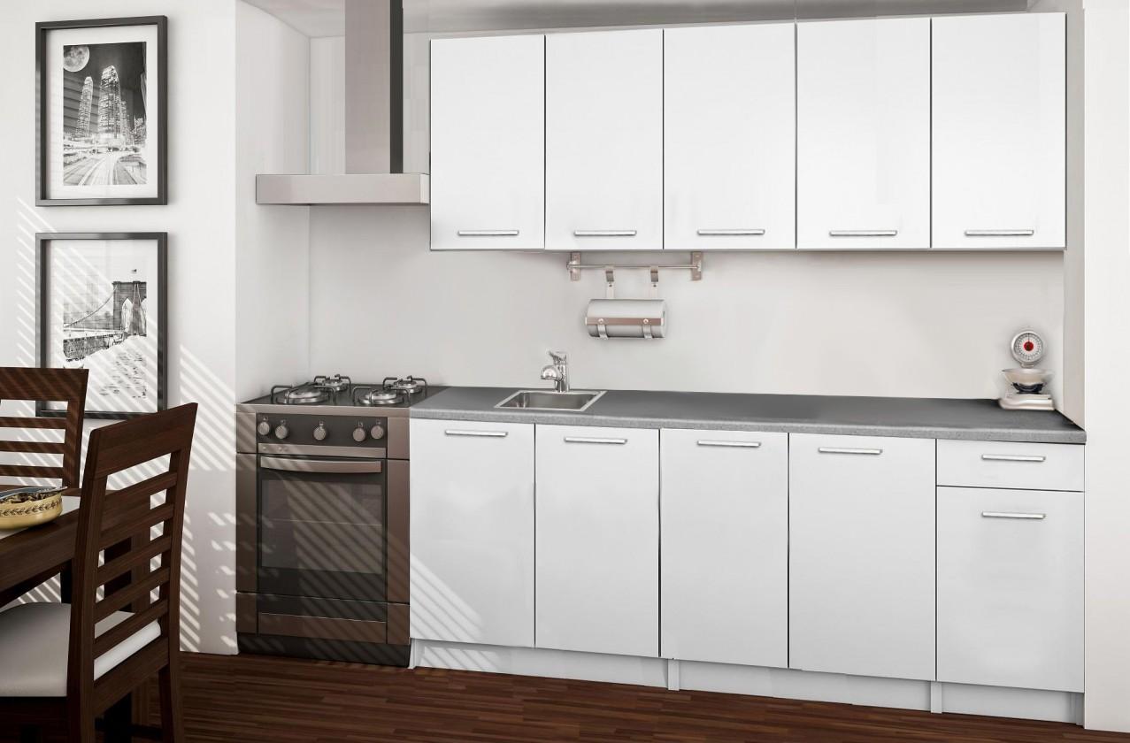 Rovná Basic - kuchynský blok A 200 cm