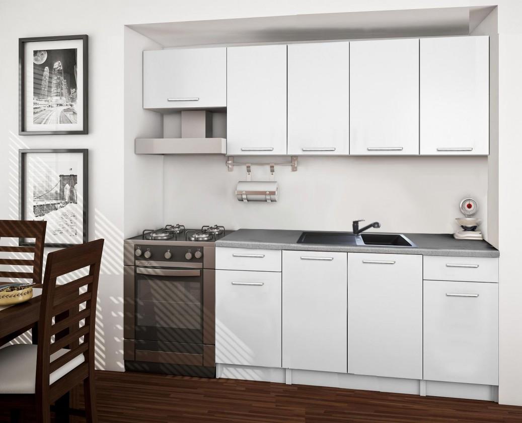 Rovná Basic - kuchynský blok A 220 cm