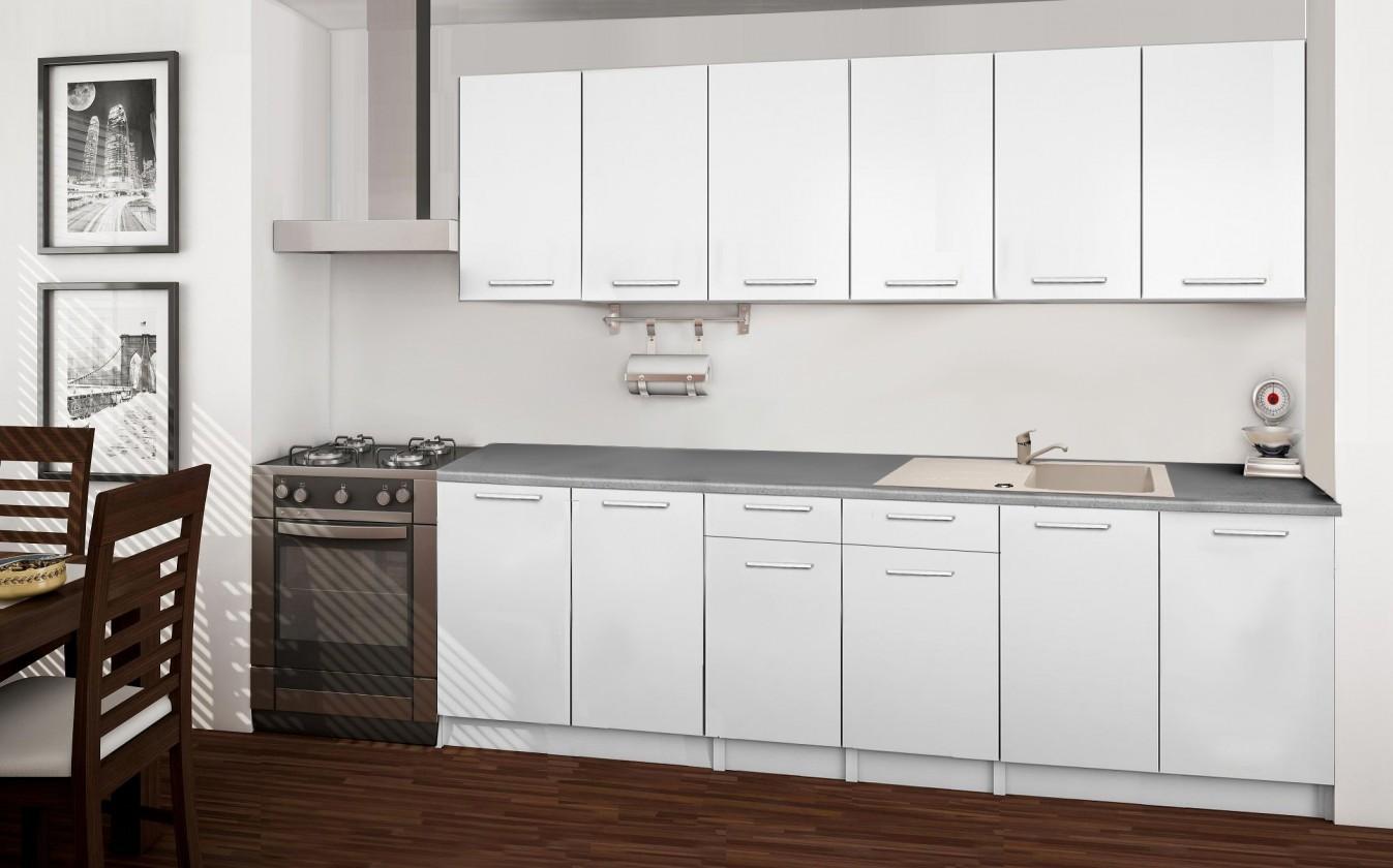 Rovná Basic - kuchynský blok A 240 cm