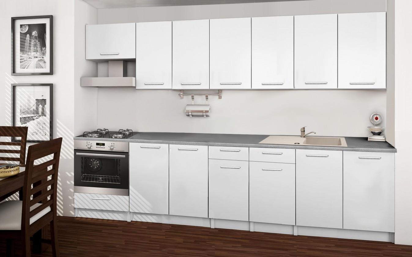 Rovná Basic - kuchynský blok A 300 cm