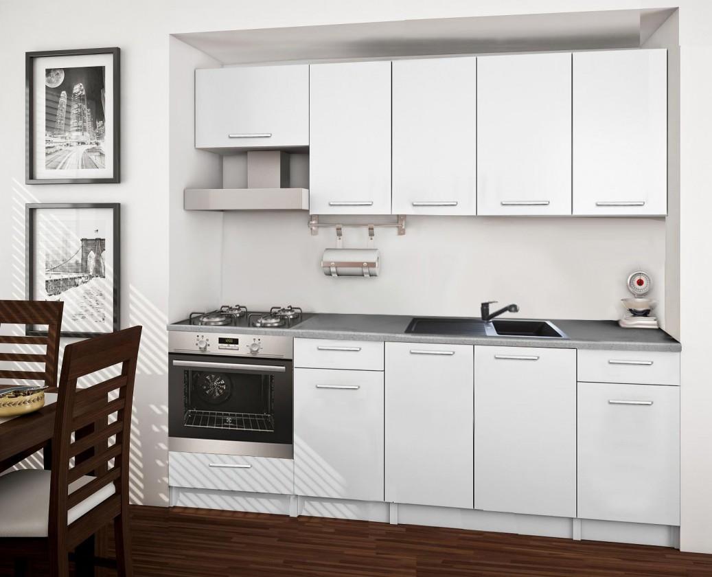 Rovná Basic - kuchynský blok B 220 cm