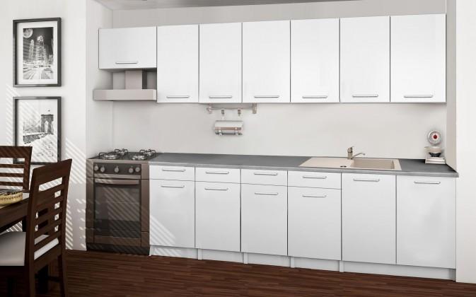 Rovná Basic - kuchynský blok B 300 cm