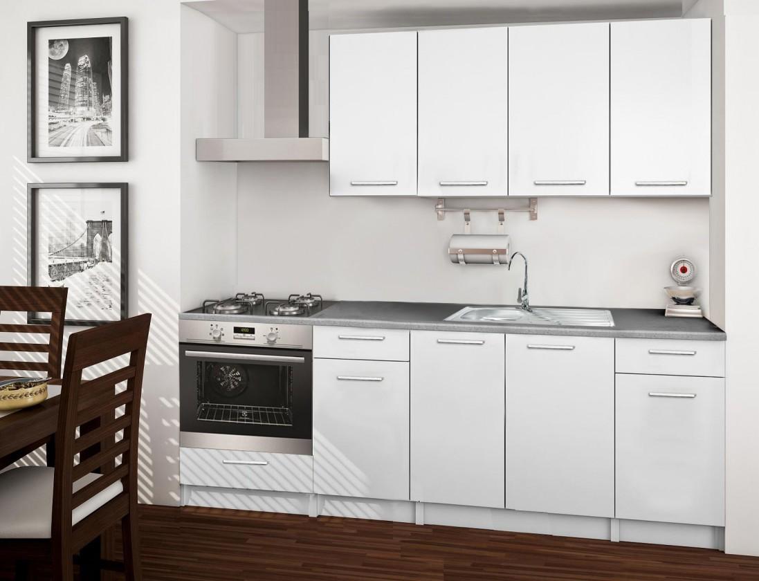 Rovná Basic - kuchynský blok C 220 cm