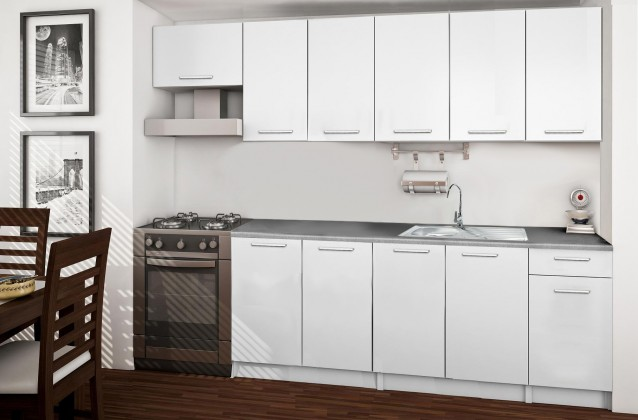 Rovná Basic - kuchynský blok C 260 cm