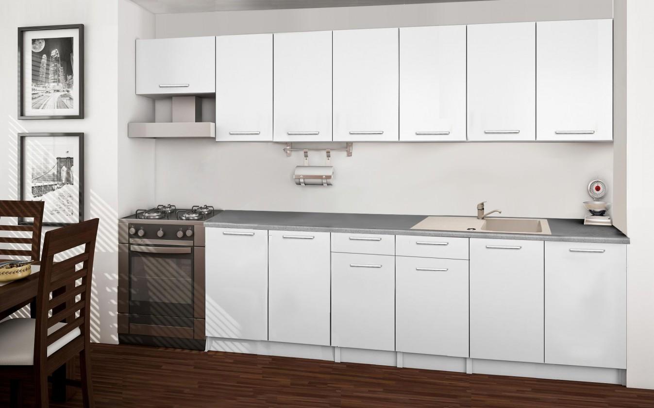 Rovná Basic - kuchynský blok F 300 cm