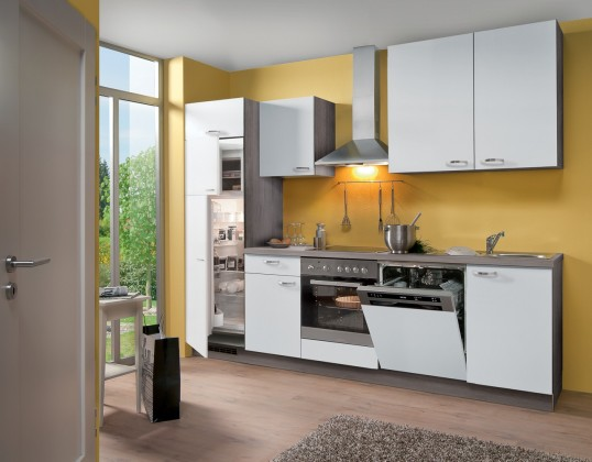 Rovná Blues - Kuchynský blok, 2,8 m (biela)