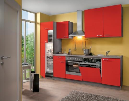 Rovná Blues - Kuchynský blok, 2,8 m (červená)