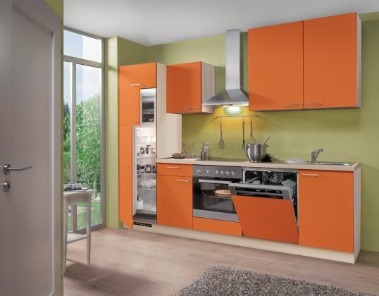 Rovná Blues - Kuchynský blok, 2,8 m (oranžová)