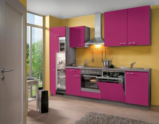 Rovná Blues - Kuchynský blok, 2,8 m (ružová)