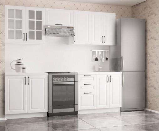 Rovná Kuchyňa Michelle - 240 cm (biela)