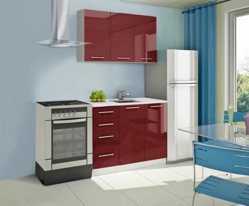 Rovná Mondeo - kuchynský blok A 120 cm (pracovná doska - mramor)