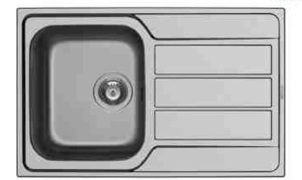Rovný Athena 1B 1D - výtok. otvor 92 (79x50)