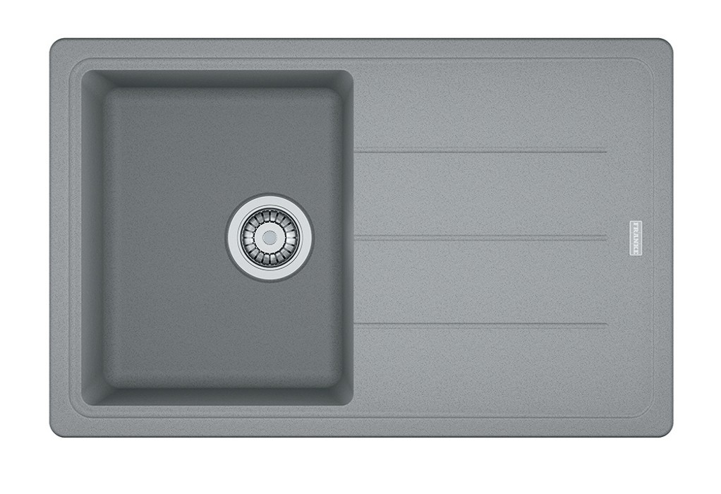 Rovný Franke - drez Fragranit BFG 611-78, 780x500 (sivý kameň)