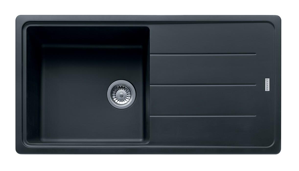 Rovný Franke - drez Fragranit BFG 611, 970x500 (grafit)